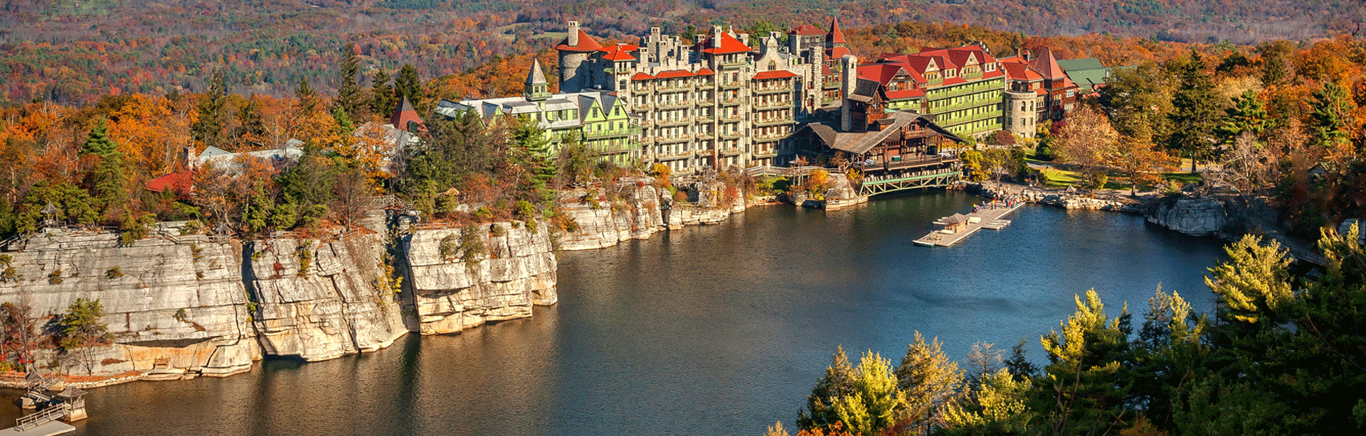 Girlfriend spa and shopping weekend at mohonk mountain for Weekend spa getaways ny