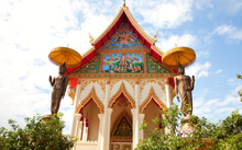 Buddhist Temple in Vientiane